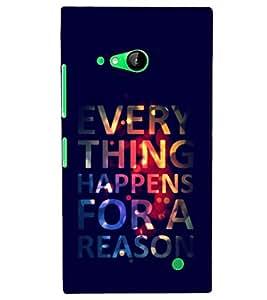 PRINTSHOPPII QUOTES Back Case Cover for Nokia Lumia 730::Microsoft Lumia 730::Microsoft Lumia 735
