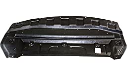 Evan-Fischer EVA20172045957 New Direct Fit Engine Splash Shield Plastic Engine Under Cover Replaces Partslink# NI1228109 Front for Nissan Sentra