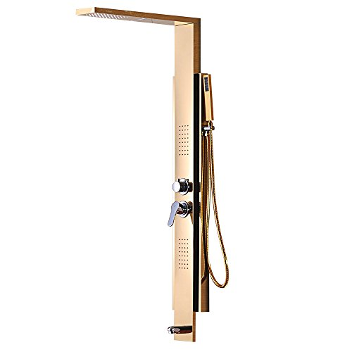 Yoco-New-Style-Floor-mounted-Shower-Panel-Rainfall-Waterfall-Shower-System-Shower-Tower