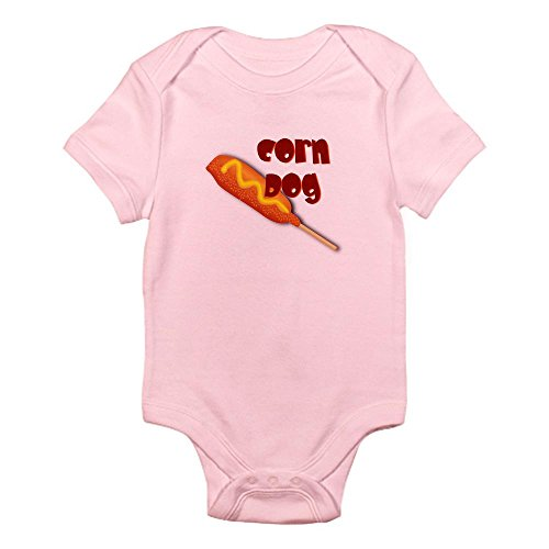 CafePress - Corn Dog Infant Creeper - Cute Infant Bodysuit Baby Romper (Corn Dog Clothing compare prices)