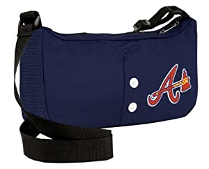 Little Earth 76004-BRAV MLB Atlanta Braves Jersey Purse by Little Earth