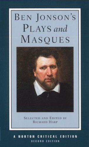 Ben Jonson's Plays and Masques (Second Edition)  (Norton...