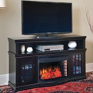 Muskoka Dwyer Espresso Electric Fireplace Media Console