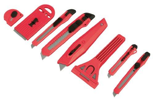 Tekton 96909 Snap-Off Knife And Scraper Set, 8-Piece