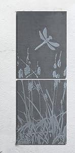 Greenkey Medium Rural Slate Wall Art from Greenkey Garden and Home Ltd