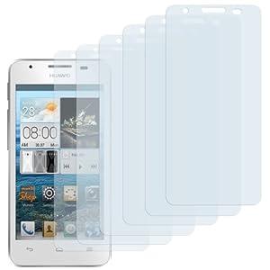 6x mumbi Displayschutzfolie Huawei Ascend G510 Schutzfolie