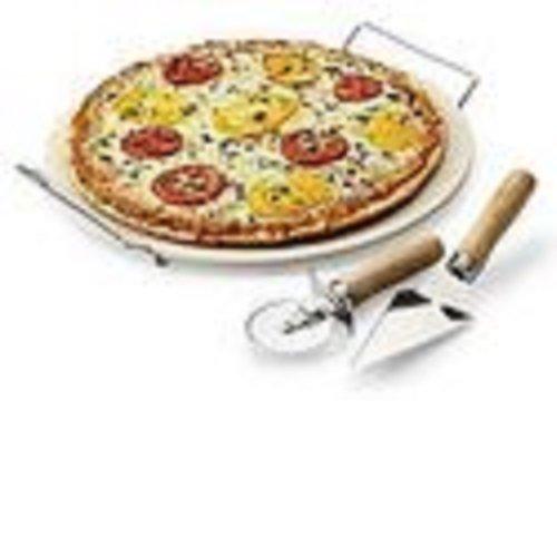 Sandra By Sandra Lee 4 Pc Pizza Stone Set