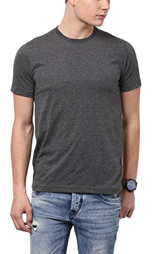 Aventura Outfitters Round Neck Charcoal Melange T-Shirt - XL (AOTE06-XL)