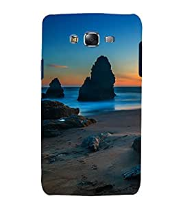printtech Nature View Beach Back Case Cover for Samsung Galaxy Core i8262 / Samsung Galaxy Core i8260
