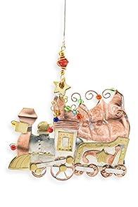 Pilgrim Imports Christmas Train Fair Trade Holiday Ornament