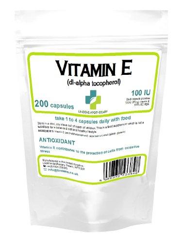 vitamin e dl alpha tocopherol 100 ie kapseln 200 bei. Black Bedroom Furniture Sets. Home Design Ideas