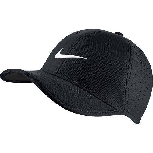 Nike Ya Ultralight Perf CapBerretto per bambino, taglia unica, Unisex adulto, nero, Taglia unica