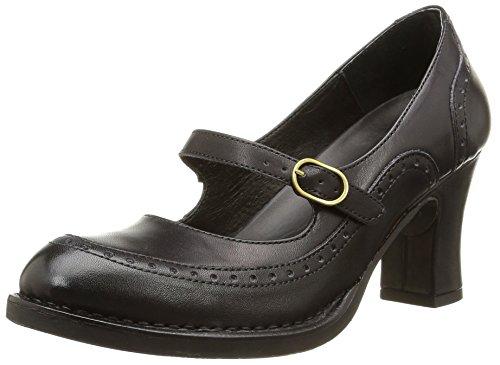 NeosensBaladi 266 - Scarpe con Tacco Donna , nero (Noir (Ebony)), 39 EU