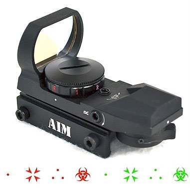 Aim Sports Tactical Dual Illuminated 4 Different Reticles/Special Ops Edition