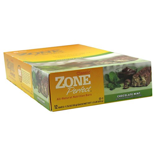 Zoneperfect Classic Nutrition Bars 12 Bars - Chocolate Mint