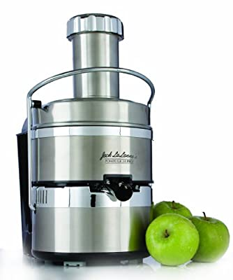 Jack Lalanne PJP Power Juicer Pro Stainless-Steel Electric Juicer