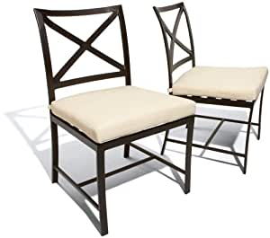 Strathwood Falkner Dining Side Chair, Set of 2 (Discontinued by Manufacturer)