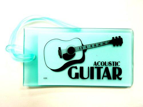 ミュージックIDバックタグ(アコースティックギター)ライトブルー