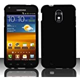 Samsung? Epic Touch 4G D710 & Galaxy S2 Sprint Rubberized Black HARD PROTECTOR COVER CASE SNAP ON PERFECT FIT