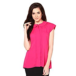 Westhreads Women's Polyester Top (Pink)