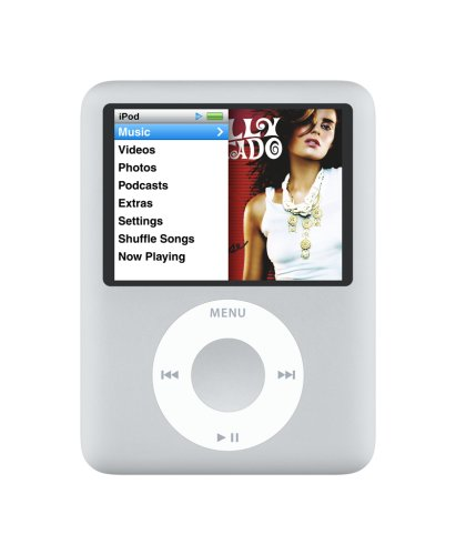 apple-ipod-nano-8-gb-silver-3rd-generation-discontinued-by-manufacturer