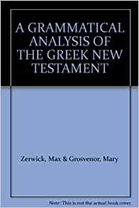 an analysis of the new testament Purpose: to compile and appraise the accounts of the miracles of vision in the  new testament methods: we carried out a critical analysis of the.