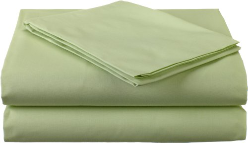 American Baby Company Percale 3 Piece Toddler Sheet Set, Celery