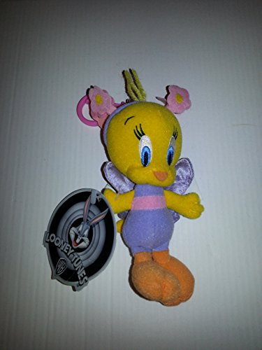 Plush Tweety as a Fairy - Backpack Clip 5""