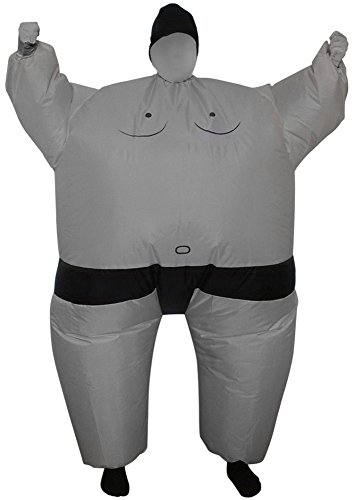 Green Man Factory Adult Inflatable Sumo Body Suit