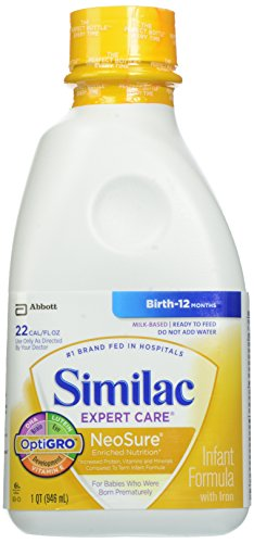 Similac Expert Care NeoSure Ready to Feed, 32 Fluid Ounce