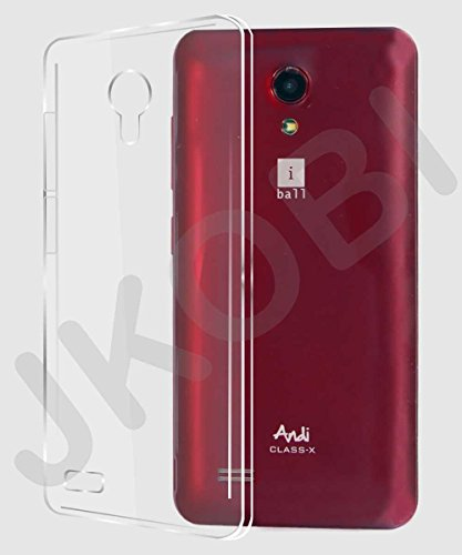 Jkobi Exclusive Soft Silicone TPU Clear Case Soft Back Case Cover For iBall Andi Class X -Transparent  available at amazon for Rs.189