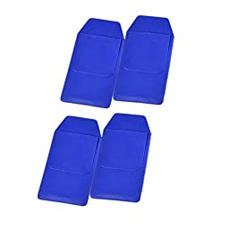 Nature Vinyl Pocket Protector, for Pen Leaks,for School Hospital Office Pocket Protector for Pen Leaks Classical Pocket Protector for School Hospital Office (blue)