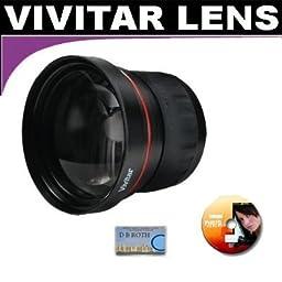 Vivitar Series 1 High Definition Wide Angle Fisheye 0.21x Lens For The JVC Everio GZ-HD620, HD500 Hard Drive Camcorder