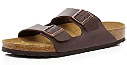 Birkenstock Unisex Arizona Sandal,Brown,39 M EU