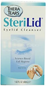 Thera Tears Sterilid EyeLid Cleanser, 1.62-Ounce