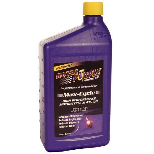 Buy best cheap royal purple max cycle synthetic motorcycle for What is the best motor oil to use