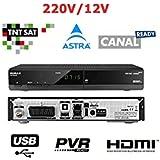 Humax TN7000HD Récepteur Satellite + Carte TNTSAT Noir