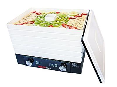 Nesco FD-2000 Digital Square Dehydrator, 530-watt, White by Nesco