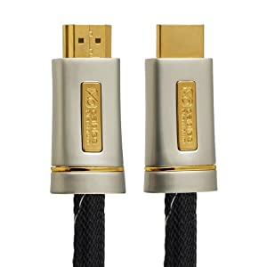 2M (2 Meter) XO PLATINUM HDMI TO HDMI Cable *New 2.0/1.4 Version High-Speed with ETHERNET and 3D 21GPS* FULL HD 2160p/1080p for XBOX 360, PS3, PS4, SKYHD, VIRGIN BOX, DVD, BLU-RAY, UHD, LCD, LED, PLASMA, Dolby TrueHD, Samsung LG SONY PANASONIC HDTV
