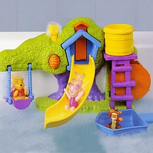 Disney Splash Bubble Treehouse Pooh Bath Toy