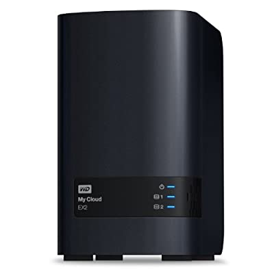 WD My Cloud EX2 8 TB: Reliable Network Attached Storage featuring WD Red Drives
