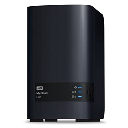 WD-My-Cloud-EX2-8-TB:-Reliable-Network-Attached-Storage-featuring-WD-Red-Drives