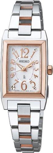 [セイコー]SEIKO 腕時計 LUKIA ルキア ソーラー ホワイト SSVR070 レディース