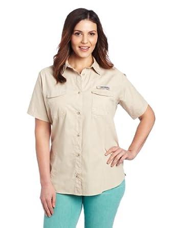 Columbia women 39 s bonehead short sleeve fishing for Columbia fishing shirts womens