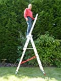 7 Rung TRADE MASTER Combi All-In-One Extension Ladder, Step Ladder & Free Standing Ladder