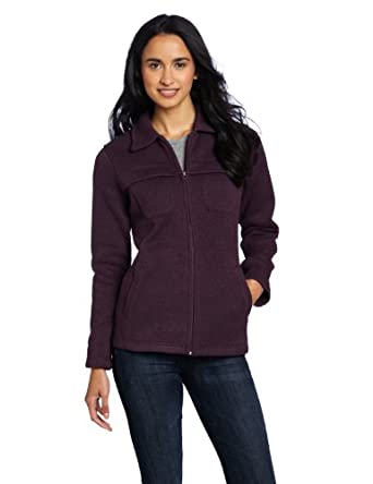 Woolrich Women's Stag Fleece Jacket, Blackberry Heather, Medium
