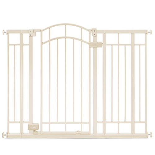 Summer Infant Multi-Use Deco Extra Tall Walk-Thru Gate, Beige (Extra Tall Pressure Mount Gate compare prices)