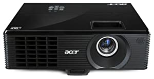 Acer X1311WH DLP-Projektor (WXGA, 1280 x 800 Pixel, 2700 ANSI-Lumen, HDMI) schwarz