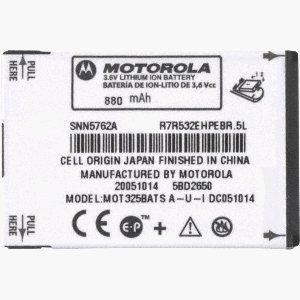 Original Motorola Battery snn5762 5762 for v325 v323 v365 v325i v235 v190 v195 a1200 Ming v360 v361 v365 v975 w315 c290 krzr krazor k1m Moto Q Nextel (Motorola Rival A455 Battery compare prices)
