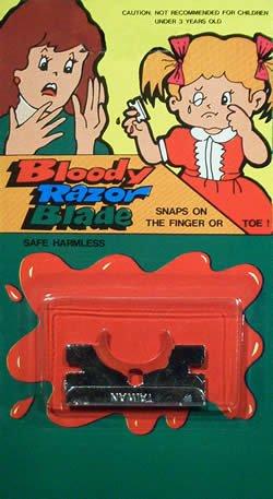 Razor Blade Finger - 1